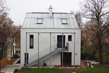 Haus B, Umbau eines Heurigenlokals zu einem Wohnhaus mit 2 Wohneinheiten, gemeinsam mit Architekt Kurt Karhan