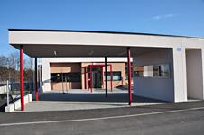 Kindergarten St. Egyden, Niederösterreich, gemeinsam mit Architekt Kurt Karhan