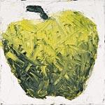 von Äpfeln, Öl auf Leinwand 31x31cm, 2003
