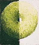 Schattenkreis, Öl auf Leinwand 100x115cm, 2004