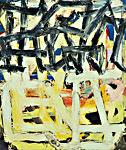 Gedankengänge 4, Öl auf Leinwand  110x130cm, 2007