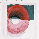 Schattenbild, Acryl auf Papier 40x40cm, 2003