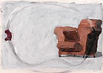 Geburtshelfers, Gouache auf Papier 70x50cm, 2004
