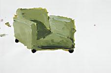 Ernest, Acryl auf Papier 70x50cm, 2007