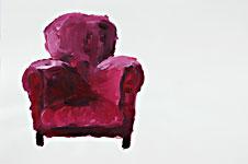 Fjodor Michailowitsch, Acryl auf Papier 70x50cm, 2007