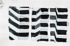 Stanze, Acryl auf Papier 70x50cm, 2007
