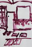 Tusche auf Papier 35x50cm, 2009